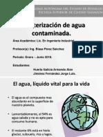 Caracterización de Agua Contaminada