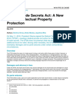 Defend Trade Secrets Act a New Era in Intellectual Property Protection