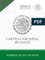 Cartilla Hombres Completa 2018