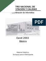 Microsoft Office Excel 2003 Básico