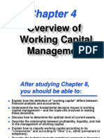 Overview of Working Capital Management-CH4