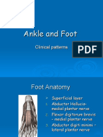 Ankle and Foot Patterns