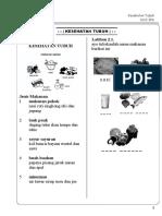 Modul Bimbel Kelas 1 KTSP 1002 IPA Bab 2 Kesehatan Tubuh