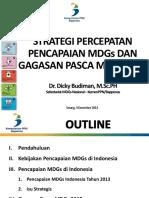20141204 Serang - MDGs Dan Gagasan Pasca MDGs 2015