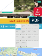 SoloLearn JAVA 1.Basic Concept