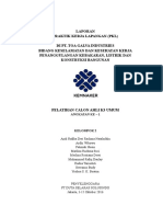 355114458 Laporan PKL Kelompok 2 PDF