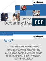 Introduction to Debating