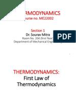 Thermodynamics First Law (2)
