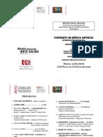 Música en El Palacio Programa 1º Curso 2017- 2018