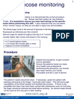 Glucose Monitoring Print