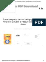 Prana o Segredo Da Cura Pela Yoga (Atreya) by Grupo de Estudos e Pesquisas Boiadeiro Rei - Issuu _ Issuu PDF Download