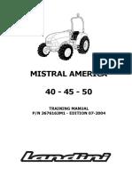 -Landini Mistral America 40-45-50 Tractor Workshop Service Repair Manual 1