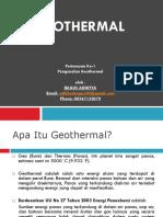 Presentation1 - Pengenalan Geothermal