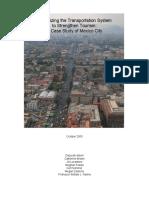 Maximizing Transportation Sys Mexico City