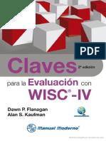 Claves para la evaluación con WISC IV