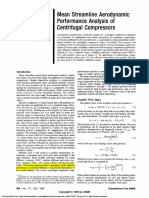 Aungier - 1995 - Mean Streamline Aerodynamic Performance Analysis of Centrifugal Compressors