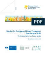 European Urban Transport Roadmaps 2030