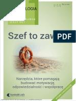 Psychologia Szefa 1 Szef to Zawod Wydanie III Rozszerzone Jerzy Gut Wojciech Haman Helion.pl