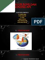 Struktur Bumi Dan Gunung API Ppt 2017