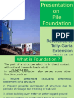 Pile Foundation TG