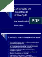 Construção de Projectos de Intervenção