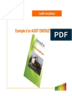 Exemple Audit Energetique