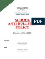 Anti-bullying School Policy (r.a.10627)2015(3) (1) (1)