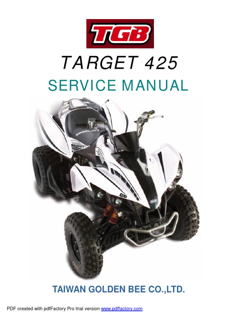 tgb target 400 service manual carburetor electrical connector rh scribd com