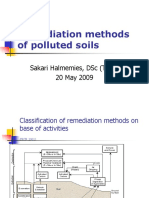 Remediation Methods of Polluted Soils, 20.5.09 (1)