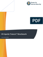 CIS Apache Tomcat 7 Benchmark v1.1.0