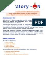LaboratoryOn Best LIMS