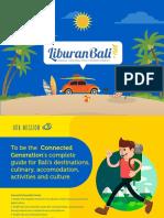 Liburan Bali Media Kit 2017