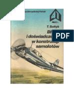 Tadeusz Sołtyk  - Błędy i doświadczenia w konstrukcji samolotów – 1986 (zorg)