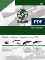 Sabatti Rifle Catalogue