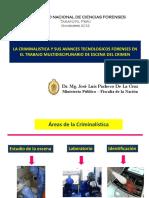 2406 Avances Tecnologicos en Criminalistica Dr. Mg. Jose Luis Pacheco de La Cruz