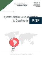 Impactos Ambientais Desafios Crescimento