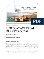 Ufo Contact From Planet Koldas