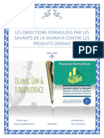 Objections sharia derivatives