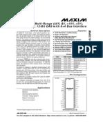 MAX197 Datasheet