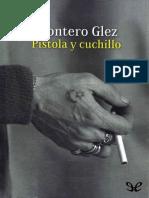 Glez Montero - Pistola y cuchillo.epub