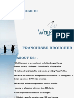 Franchisee Profile
