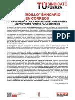 2376304-Comunicado CCOO Acuerdo Banco Mediolanum