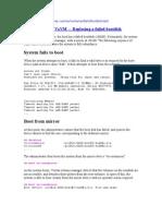 VxVM - Replacing Failed Bootdisk-25.01.05