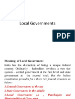 Local Governments Ppt