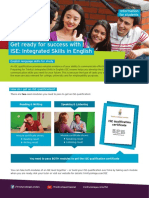 ISE Factsheet for Students