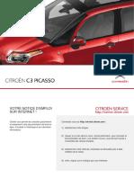 Notice Citroen c3 Picasso Manuel d Utilisation