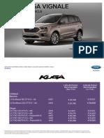 Lista de Preturi Ford Kuga Vignale