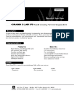 GRAND SLAM FS Fast & Spreading Perennial Ryegrass Bend
