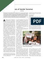 Genesis of Suicide Terrorism