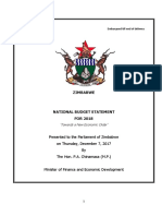 2018 Budget Statement Final 1